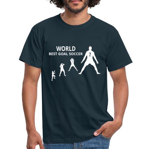 Wereld best doelpuntenmaker - Mannen T-shirt