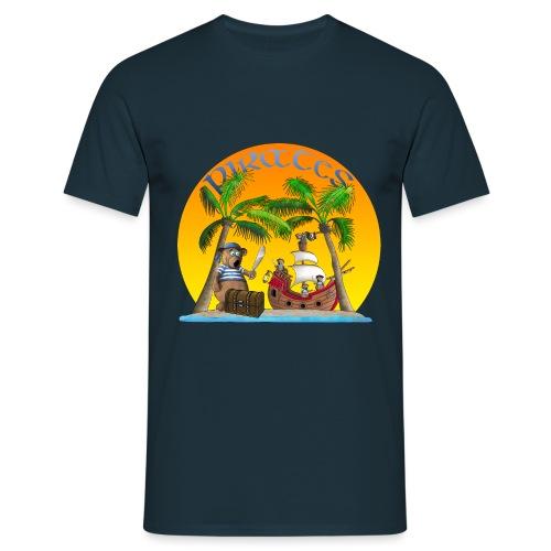 Piraten - Schatz - Männer T-Shirt