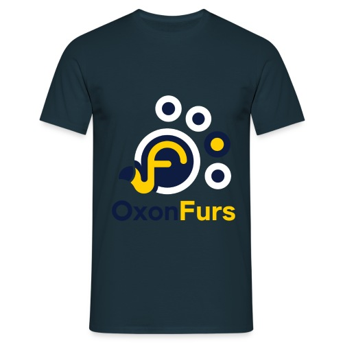 OxonFurs Logo Colour - Men's T-Shirt
