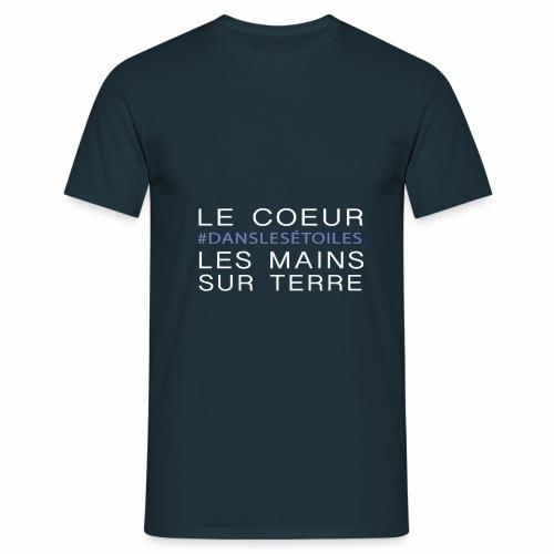 Le coeur dans les étoiles - T-shirt Homme
