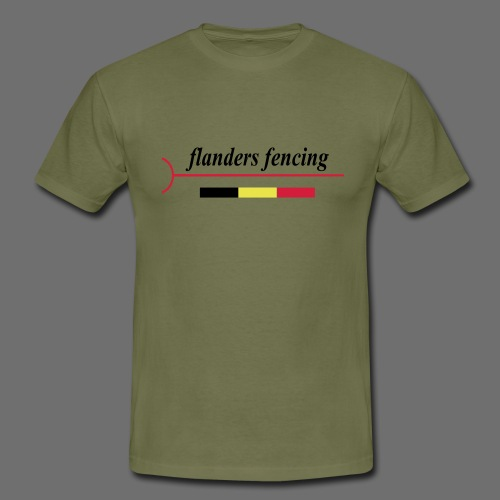 Flanders Fencing BE - Mannen T-shirt