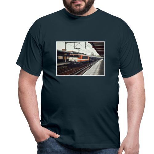 Goederentrein in Almere Buiten - Mannen T-shirt