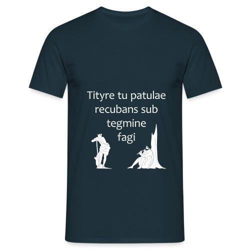 Tityre tu patulae (senza accenti) - Maglietta da uomo