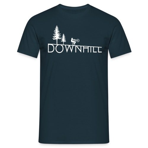 Downhill Whip it design - Männer T-Shirt