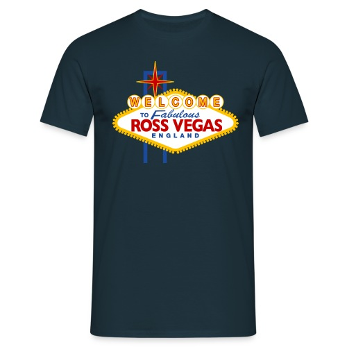 Ross Vegas - Men's T-Shirt