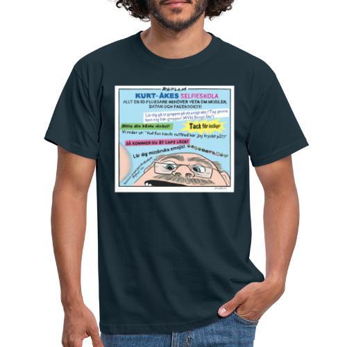Kurt-Åkes selfieskola - T-shirt herr