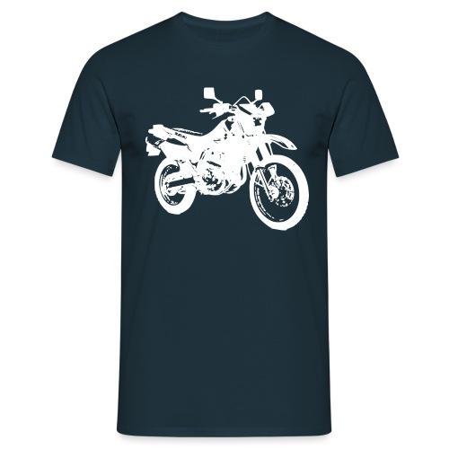 DR650 weiss - Männer T-Shirt
