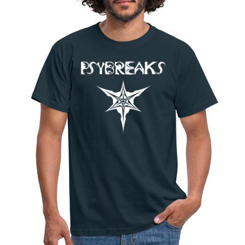 Psybreaks visuel 1 - text - white color - T-shirt Homme