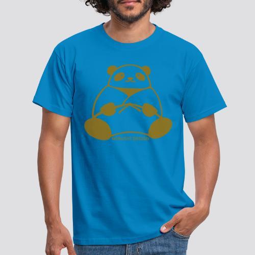 Gouden Panda - Mannen T-shirt