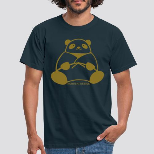Golden Panda - Mannen T-shirt