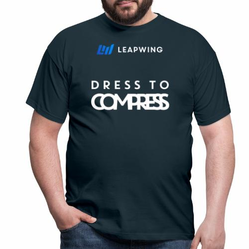 Leapwing Dress to Compress - Men's T-Shirt