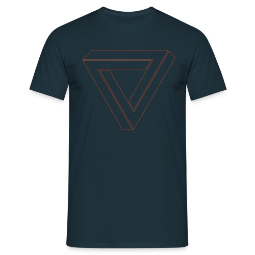Triangle impossible - T-shirt Homme