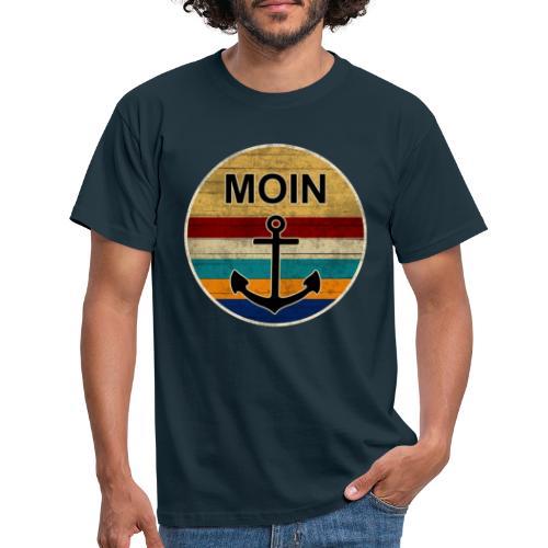Moin Anker Retro - Männer T-Shirt