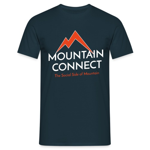 MountainConnect - The Social Side of Mountain - Maglietta da uomo