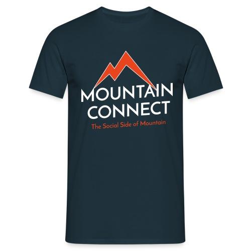 MountainConnect - The Social Side of Mountain - Maglietta da uomo