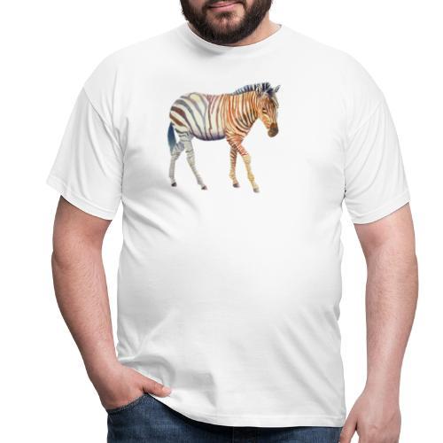 Zebra grants - Herre-T-shirt