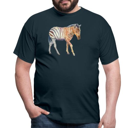 Zebra grants - Herre-T-shirt