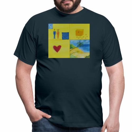 Viererwunsch - Männer T-Shirt