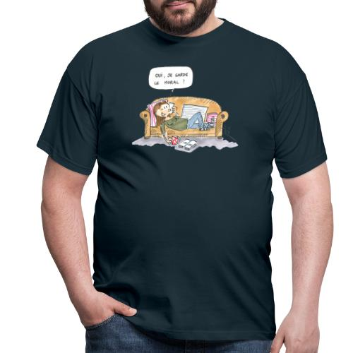2020 10 Je garde le moral - T-shirt Homme