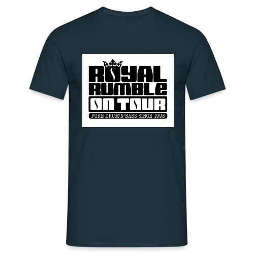 Royal Rmble on Tour jpg - Männer T-Shirt