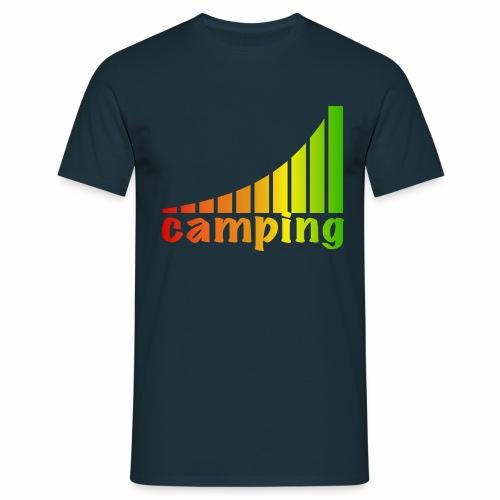 energietankstelle camping - Männer T-Shirt
