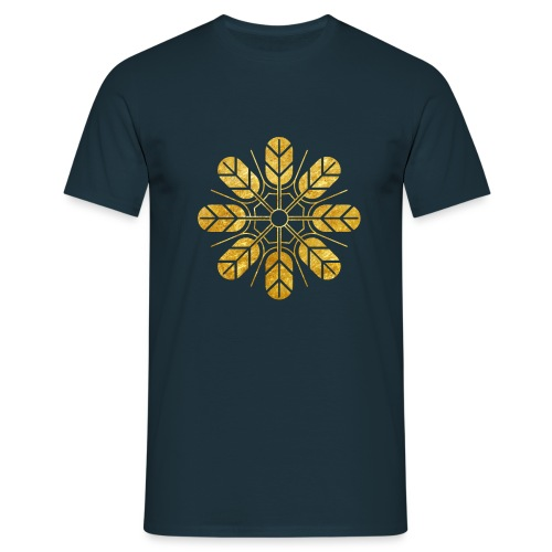 Inoue clan kamon in gold - Men's T-Shirt