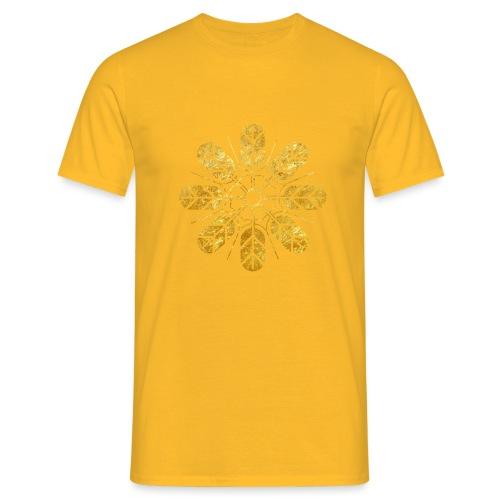 Inoue clan kamon in gold - Men's T-Shirt