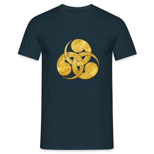 Tadpole Mon Japanese samurai clan - Men's T-Shirt