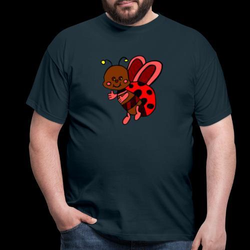 marienkaefer bunt - Männer T-Shirt