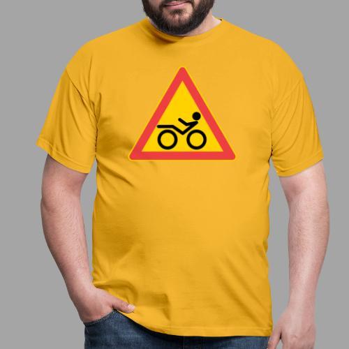 Traffic sign Recumbent - Miesten t-paita