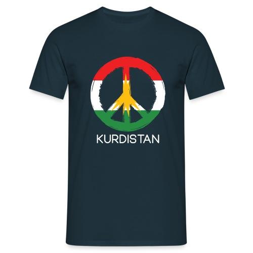 Kurdistan peace - Mannen T-shirt