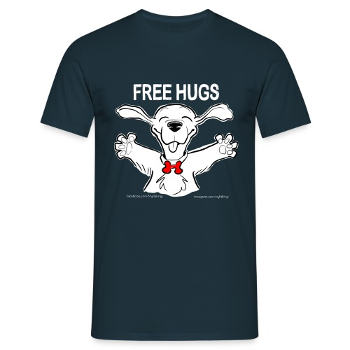 Free Hugs Premium Hugs - Maglietta da uomo