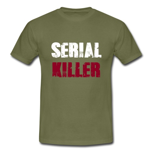 Serial Killer - Männer T-Shirt