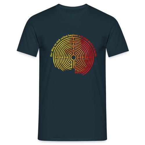Der Weg zu sich selbst - Männer T-Shirt