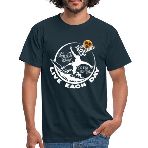 LED Tshirt white - Men's T-Shirt