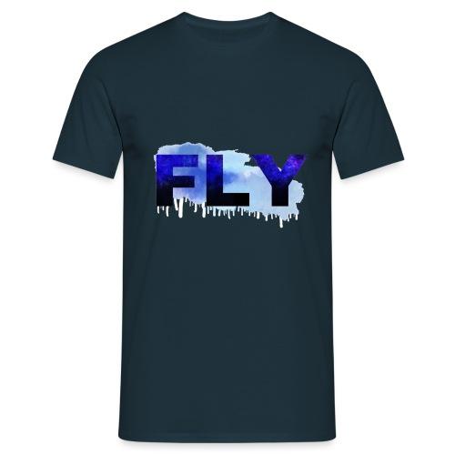 Paint Fly Design - Men's T-Shirt