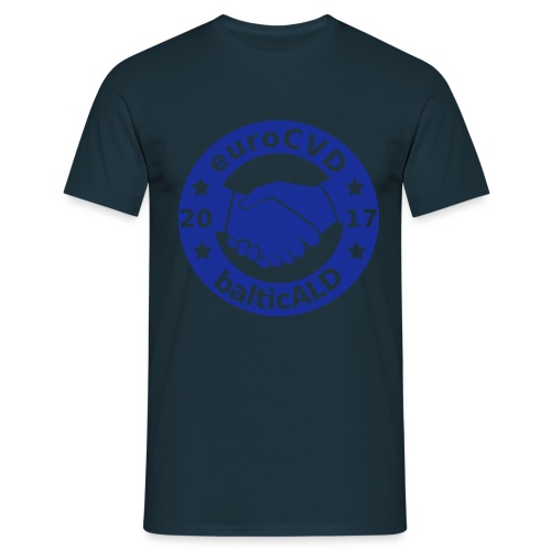 Joint EuroCVD-BalticALD conference womens t-shirt - Men's T-Shirt