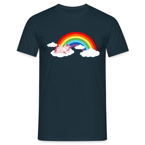 ARCOIRIS UNICORN - Camiseta hombre