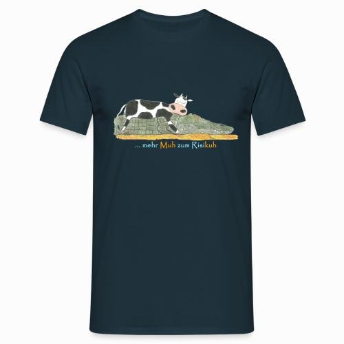 mehr Muh zum Risikuh - Männer T-Shirt