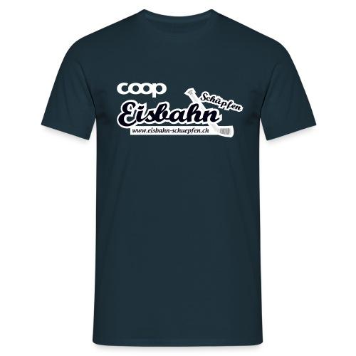 Coop-Eisbahn Schüpfen invertiert - Männer T-Shirt