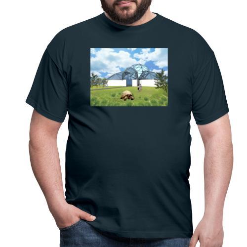Wizualizacja żółwiarium - Koszulka męska