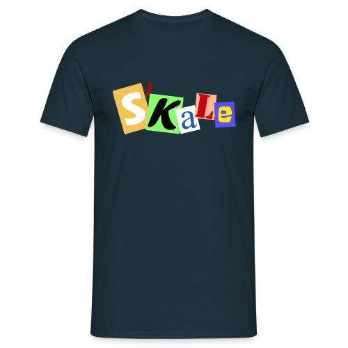 Erpresserbrief - Männer T-Shirt