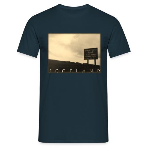 Scotland #1 (Vintage) - Männer T-Shirt