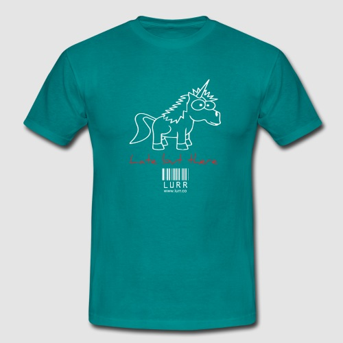 lurr unicorn - Men's T-Shirt