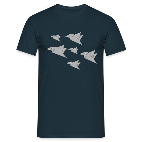 paper birdies 1 - Männer T-Shirt