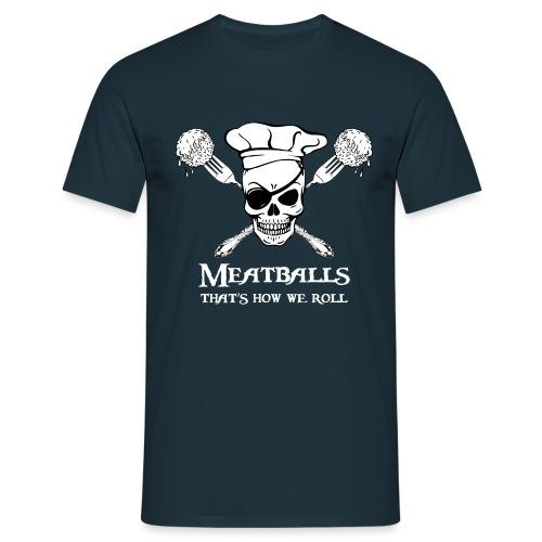 Meatballs - tinte scure - Maglietta da uomo