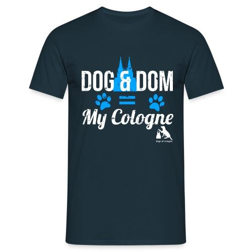 Dog & Dom = My Cologne - Männer T-Shirt