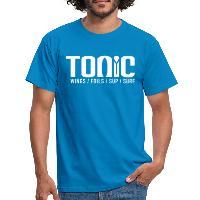 Tonic Logo - Men's T-Shirt - royal blue