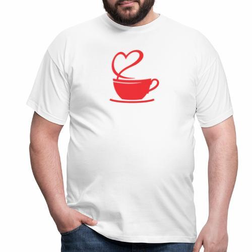 Coffee Break - Männer T-Shirt