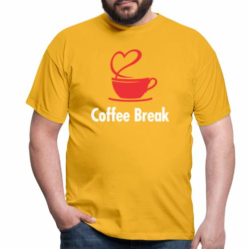 Coffee Break - Männer T-Shirt